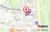 Схема проезда до компании Делюкс в Москве