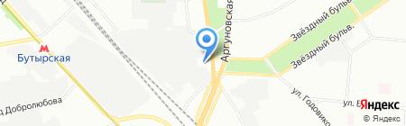 Мега Моторс на карте Москвы