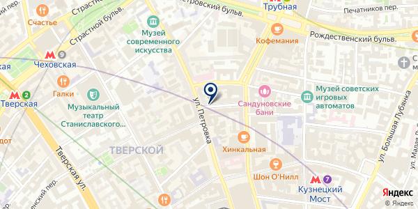 Lucky Noodles на карте Москве