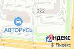 Схема проезда до компании Шиномонтажная мастерская на Балаклавском проспекте в Москве