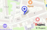 Схема проезда до компании КОНСАЛТИНГОВАЯ КОМПАНИЯ СЕРНА в Москве