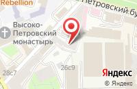 Схема проезда до компании Просветитель в Москве