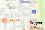 Схема проезда до компании Астория Плаза в Москве
