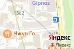 Схема проезда до компании ClinicZet в Москве