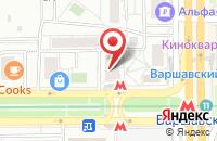 Схема проезда до компании Бимост Групп в Москве