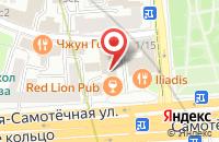 Схема проезда до компании Изабель в Москве