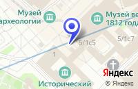 Схема проезда до компании ИНТЕРЬЕРЫ-Т в Москве