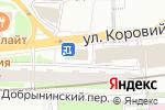 Схема проезда до компании MOLLY GWYNN`S в Москве