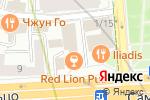 Схема проезда до компании БухУслуги.ру в Москве