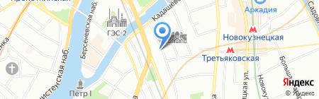 АБМ на карте Москвы