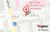 Схема проезда до компании Омикс в Москве