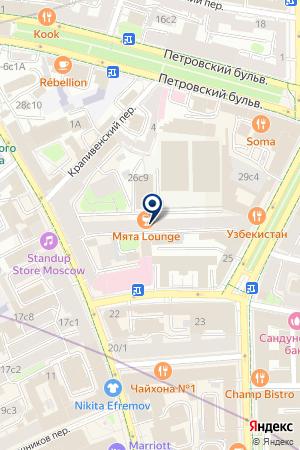 РЕДАКЦИЯ ЖУРНАЛА ТАНКОМАСТЕР на карте Москвы