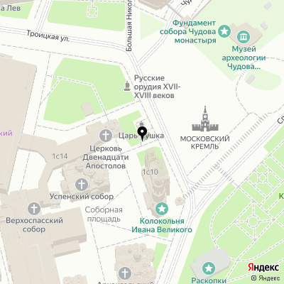 Vinstar-Russia на карте Москвы