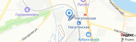 Топасплюс на карте Москвы