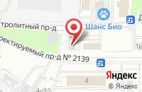 Схема проезда до компании Окнаснаб в Москве