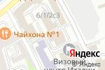 Схема проезда до компании ПЕЧАТНИКИ в Москве