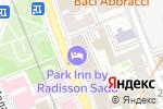 Схема проезда до компании Sadu в Москве