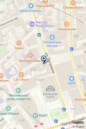 ТЕХНИЧЕСКИЙ ЦЕНТР СНАБРЕЧФЛОТ на карте Москвы