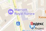 Схема проезда до компании ULYSSE NARDIN в Москве