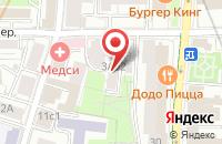 Схема проезда до компании Нефтепром в Москве
