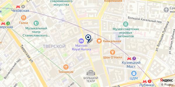 ПСИХОТЕРАПЕВТ ЖУРЕК Е.В. на карте Москве