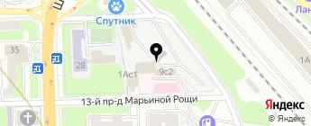 Магнитолкин на карте Москвы