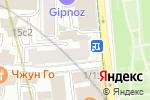 Схема проезда до компании Smoke King в Москве