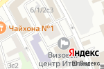 Схема проезда до компании RenarDance в Москве