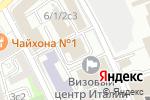 Схема проезда до компании Первая Правовая Компания в Москве
