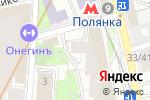 Схема проезда до компании Студия цветов и подарков в Москве