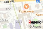 Схема проезда до компании Центр диагностики и хирургии глаза в Москве