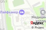Схема проезда до компании Технологии пожарной безопасности в Москве