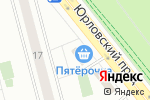 Схема проезда до компании Вселенная мебели в Москве
