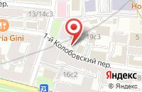 Схема проезда до компании Национальные Инженерные Системы в Москве