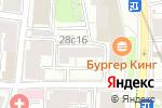 Схема проезда до компании Комсервис в Москве