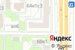 Схема проезда до компании ЭлитСтройСервис в Москве