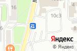 Схема проезда до компании Комус в Москве