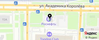 ТНК на карте Москвы