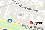 Схема проезда до компании BBTouch в Москве