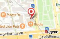 Схема проезда до компании Мотор Ком в Москве