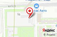 Схема проезда до компании Крострой в Москве