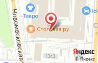 Схема проезда до компании Мир Рекламы в Москве