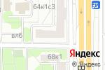Схема проезда до компании Варшавка 66 в Москве