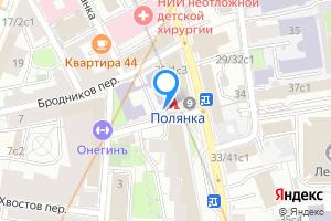 Сдается двухкомнатная квартира в Москве м. Полянка, Центральный административный округ, район Хамовники