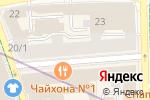Схема проезда до компании Бинариус в Москве