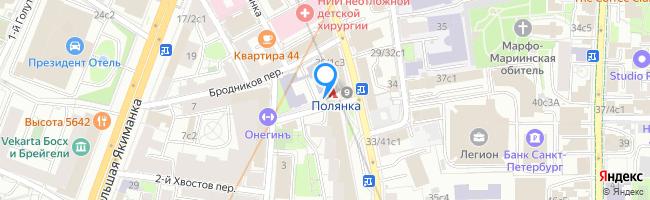 метро Полянка