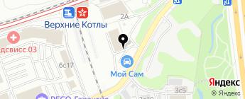 Маршал Кар на карте Москвы