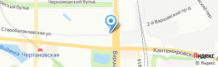 Камелот на карте Москвы
