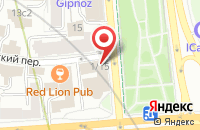 Схема проезда до компании Пуларт в Москве