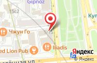 Схема проезда до компании Зеркало-Пресс в Москве